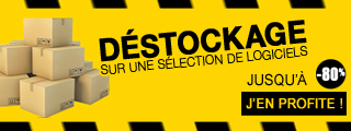 Destockage logiciels, jeux, papiers et accessoires sur Micro
