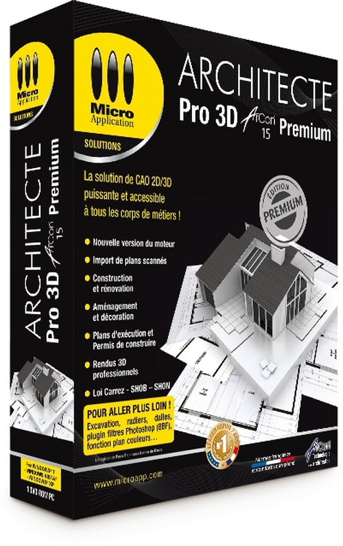 Architecte 3d pro arcon 15 premium crack keygen serial patch for Architecte 3d avec crack